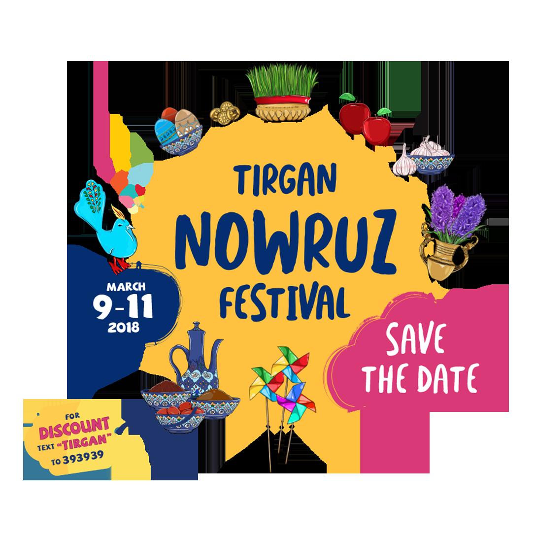 Festival clipart festival banner. Tirgan nowruz persian iranian