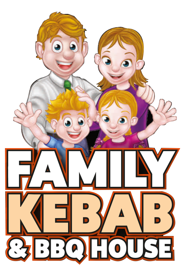 Kebab and bbq house. Feast clipart family time