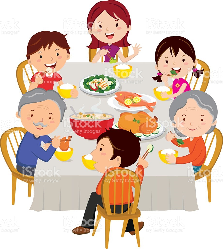 Feast clipart family tradition. Happy chinese new year