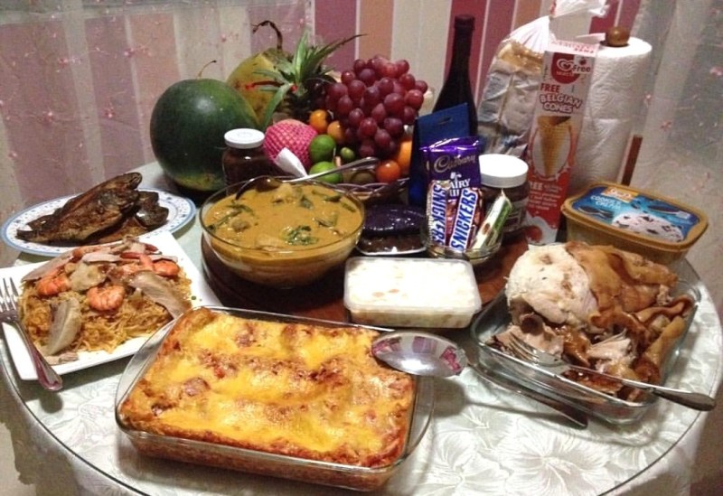 What to cook for. Feast clipart filipino food