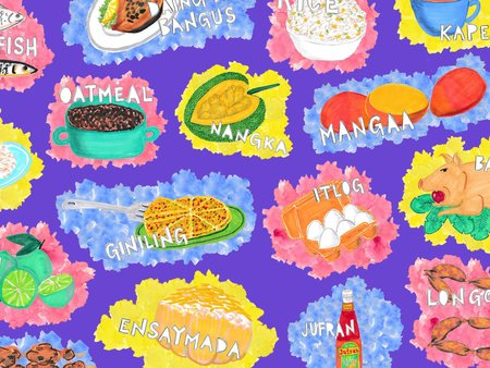 An illustrated guide to. Feast clipart filipino food