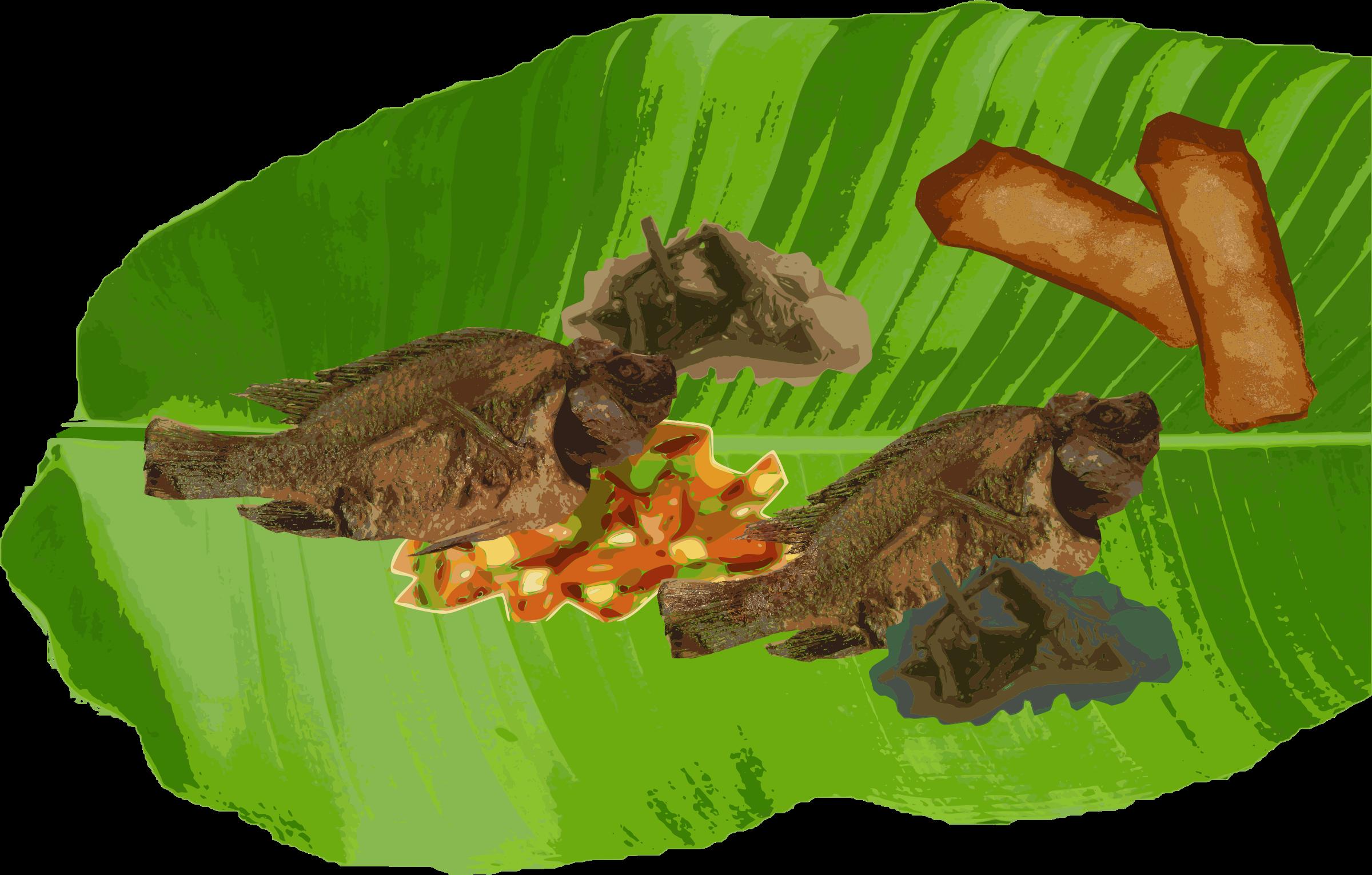 Feast clipart filipino food. Boodle fight big image