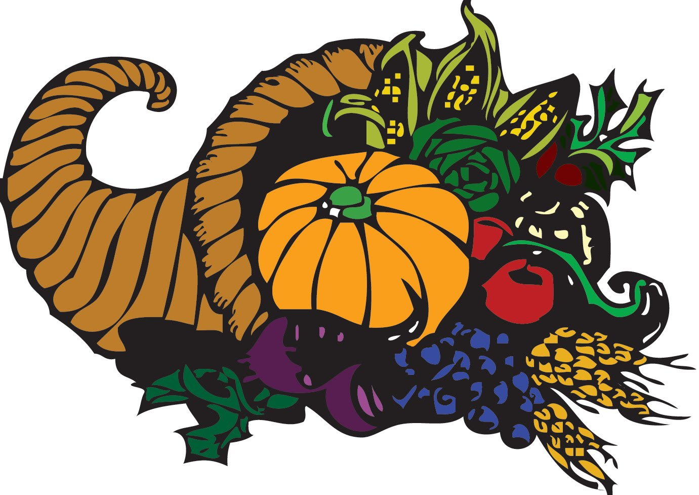 Pix for thanksgiving black. Feast clipart first