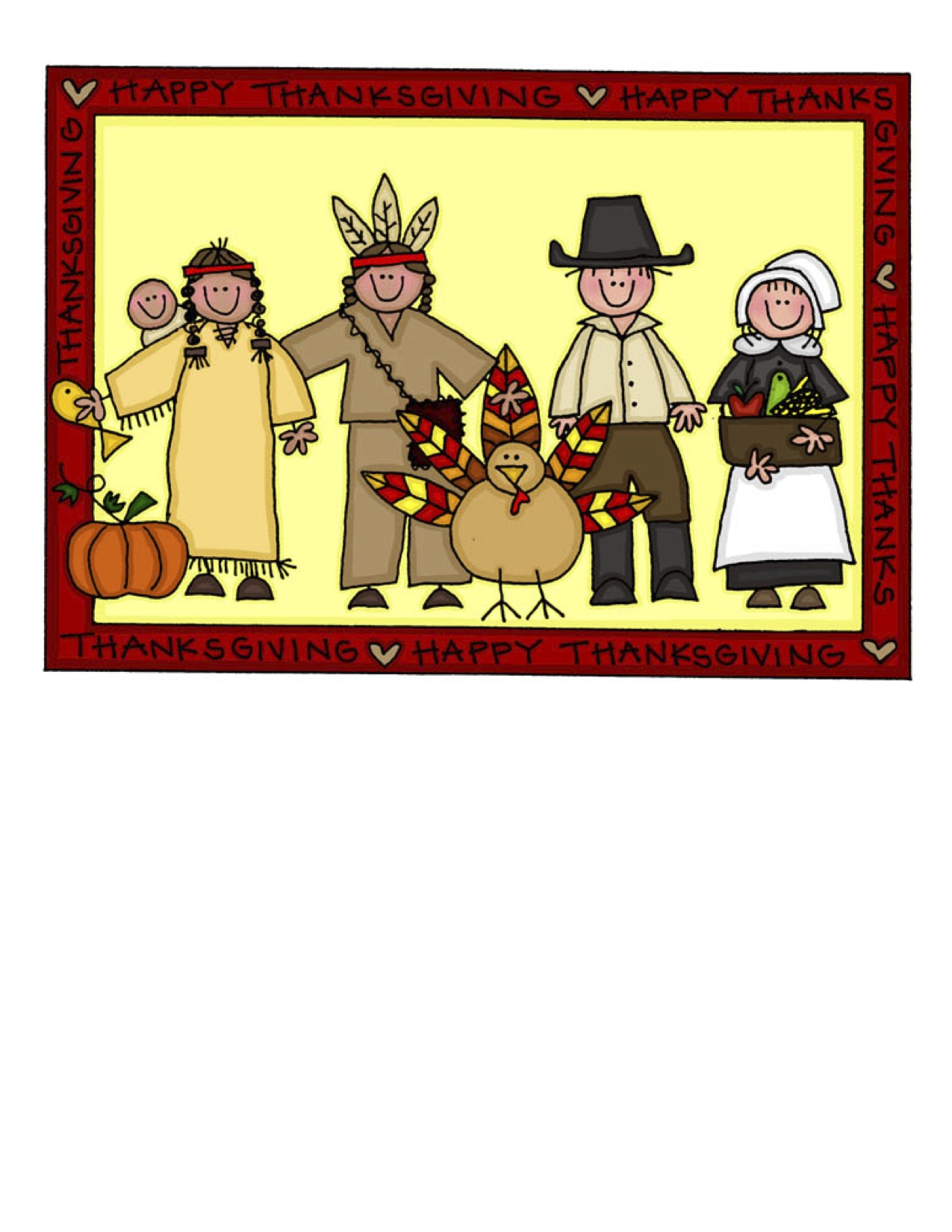 Thanksgiving images pictures becuo. Feast clipart first