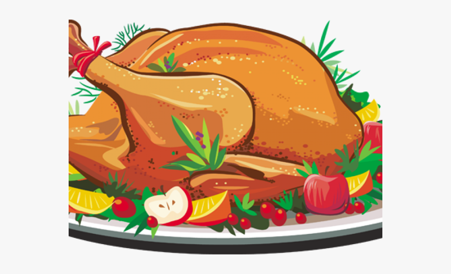 Feast clipart home cooked meal. Thanksgiving turkey dinner