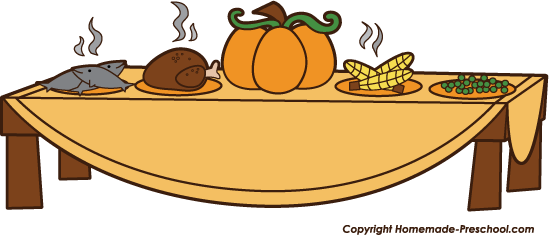 thanksgiving clipartlook. Feast clipart item