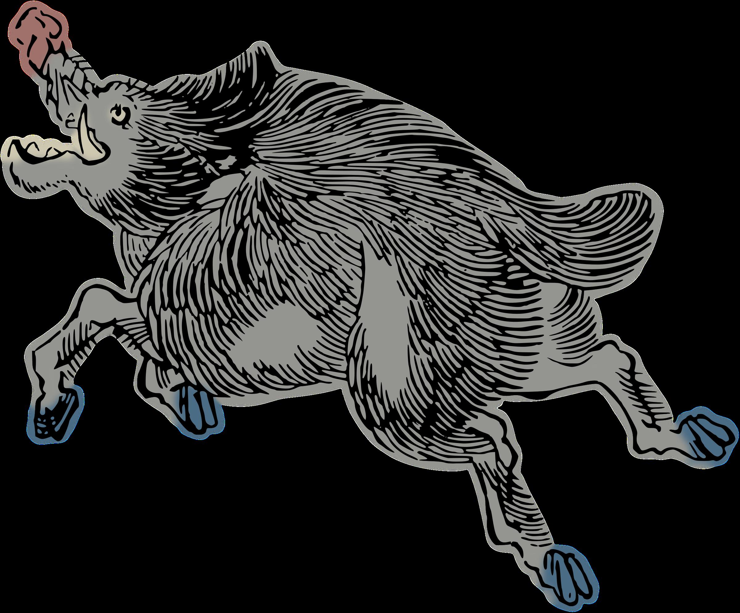 Wild by hansendo lore. Hunter clipart boar