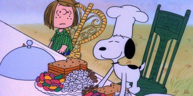 A year thanksgiving style. Feast clipart peanuts