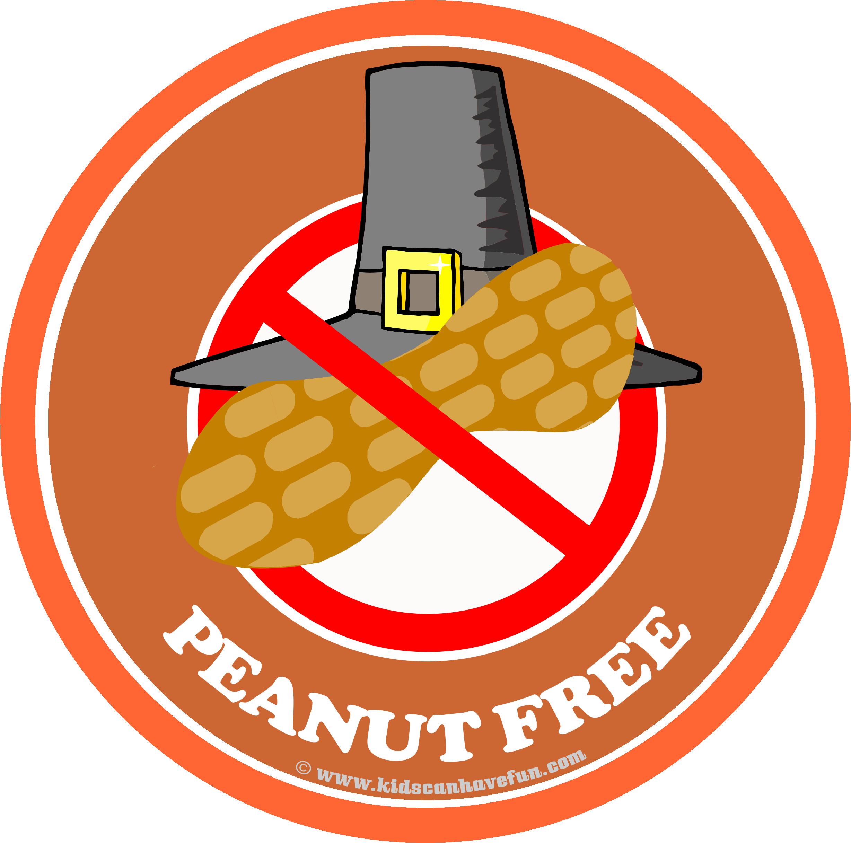 Feast clipart peanuts. Pilgrim hat peanut free