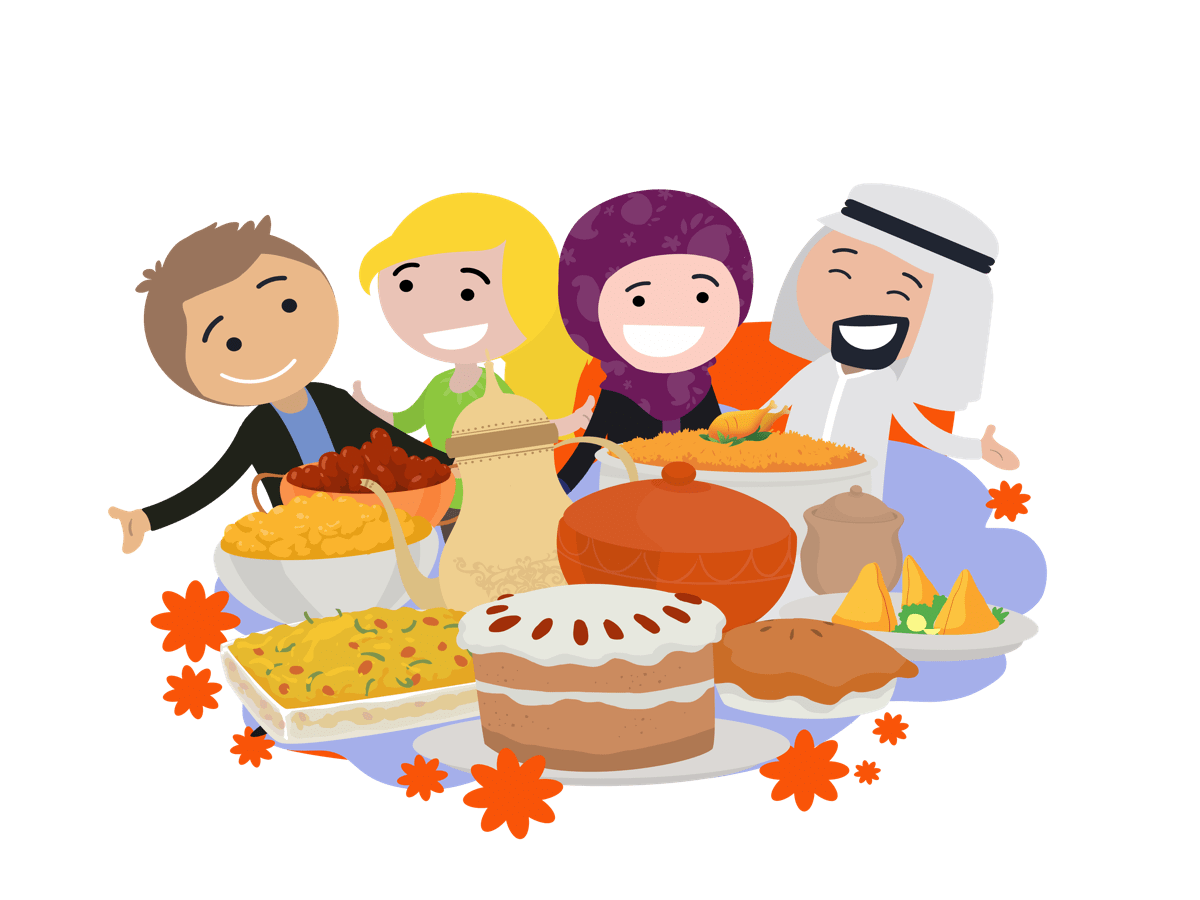 Feast clipart proper eating. Kw icon clarion school