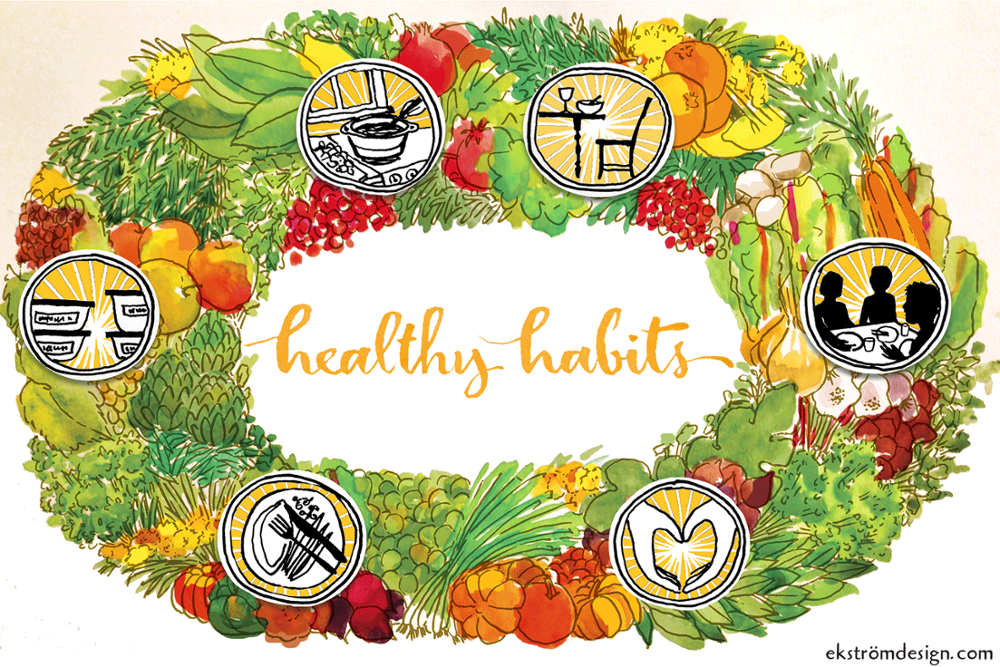 Feast clipart proper eating. The holiday habits you