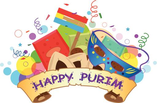 Center city kehillah . Purim clipart celebration
