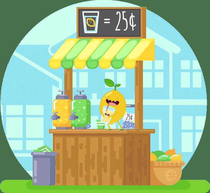 Lemonade lemonade sale
