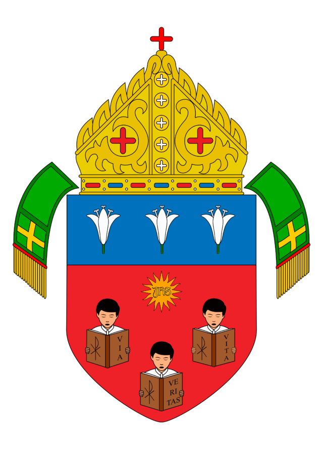 Roman catholic diocese of. Pastor clipart vicar