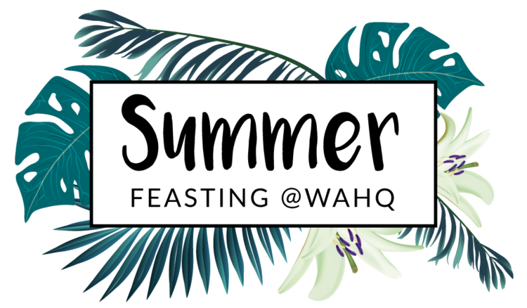 Feast clipart shared lunch. Summer wahq wa