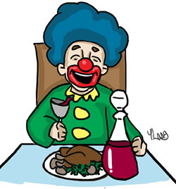 How to guide your. Purim clipart meal