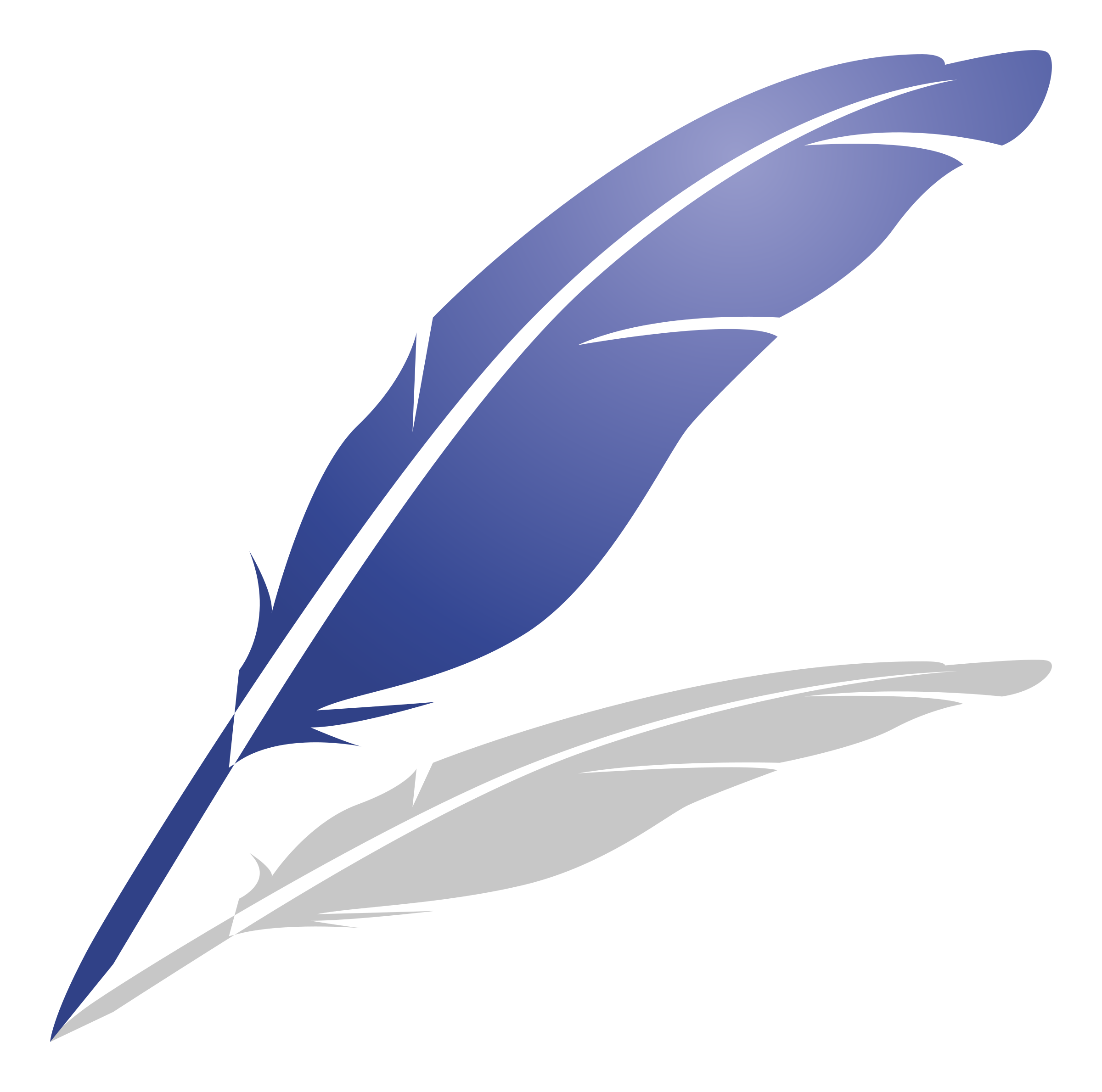 Feather clipart. Blue big image png
