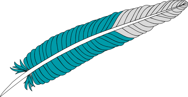 3 clipart feather. Clip art at clker