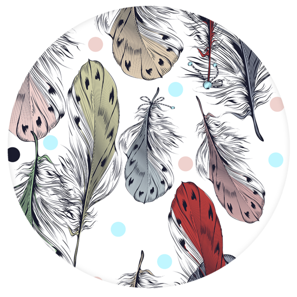 Tagged popsockets popgrip rainbow. Feather clipart boho