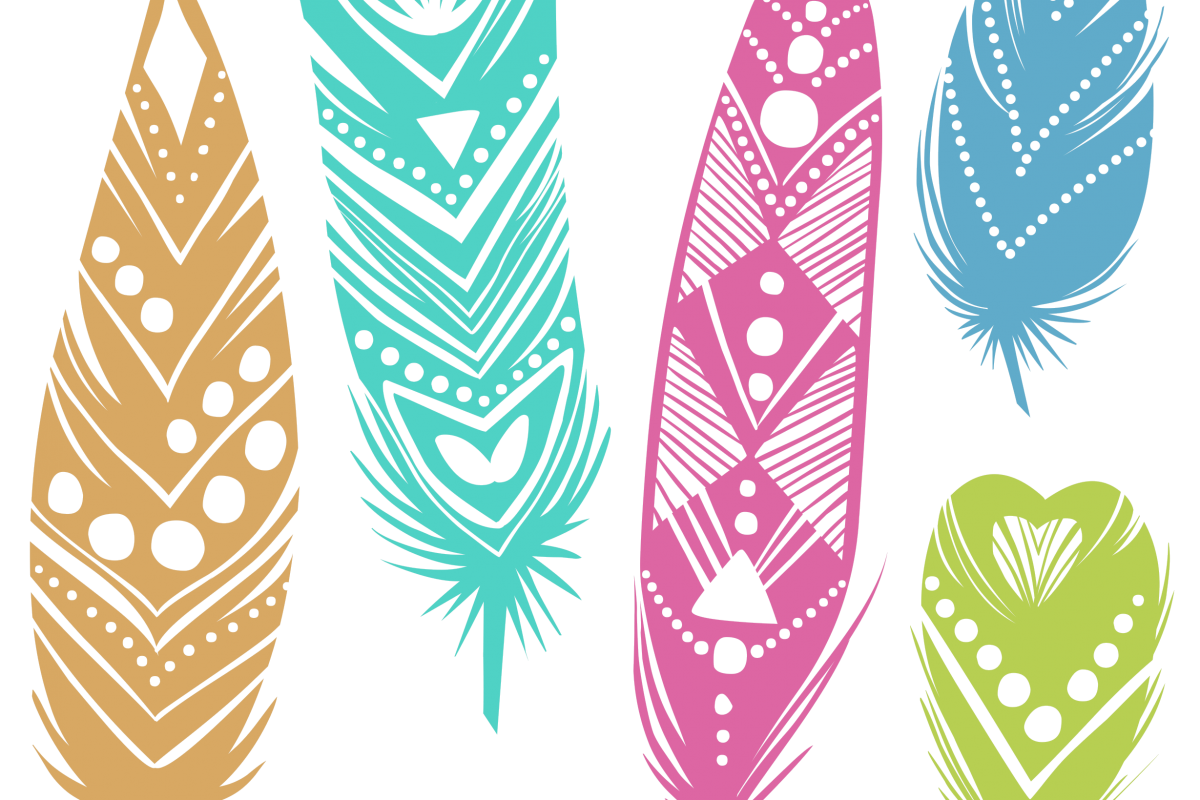 Feather clipart boho. Losing and finding yourself