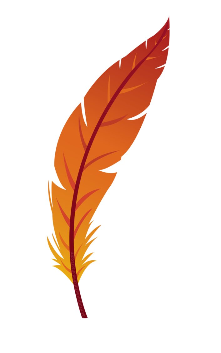 Feather clipart cute.  collection of png