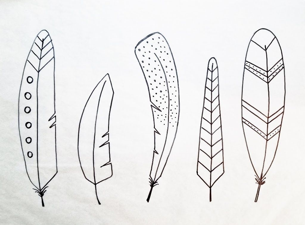 Feather clipart easy. Pin on bible journaling