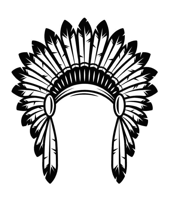 American indians png image. Warrior clipart headdress