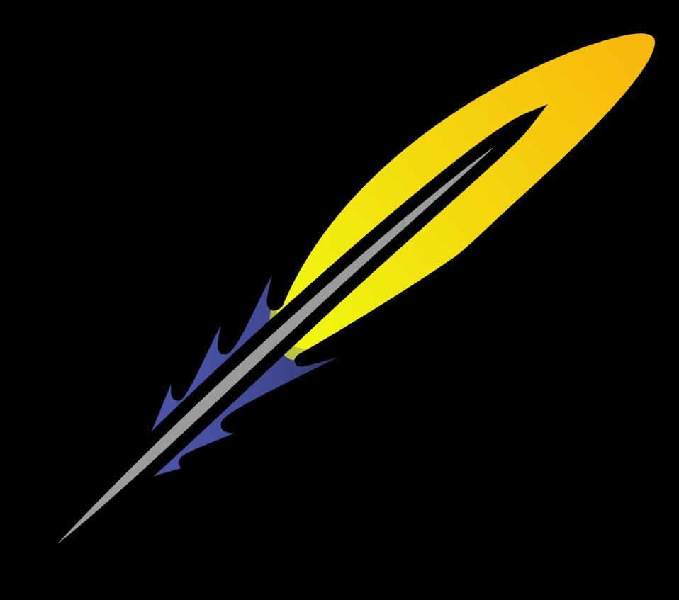 Feather clipart file. Public domain clip art