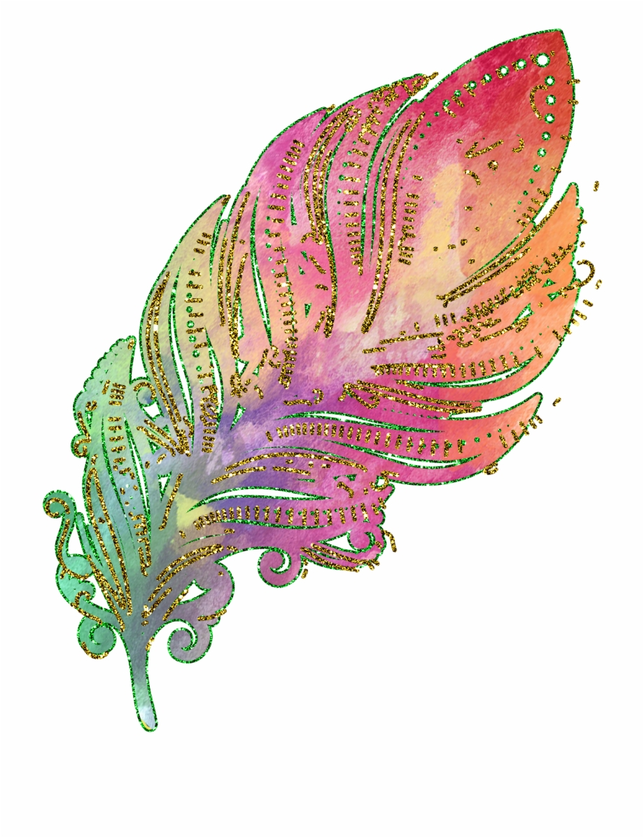 Gold feather clip art. Peacock clipart glitter