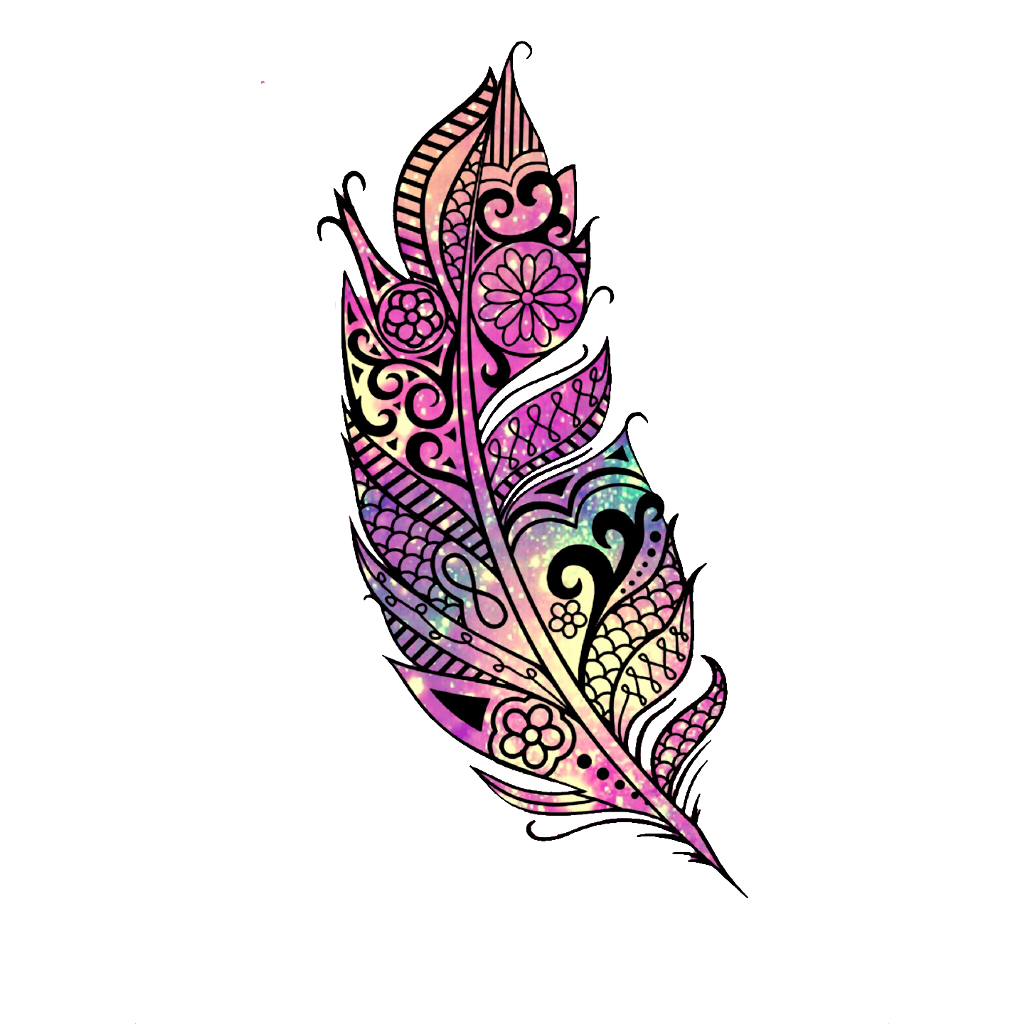 Feather clipart glitter. Sparkle pattern galaxy cute