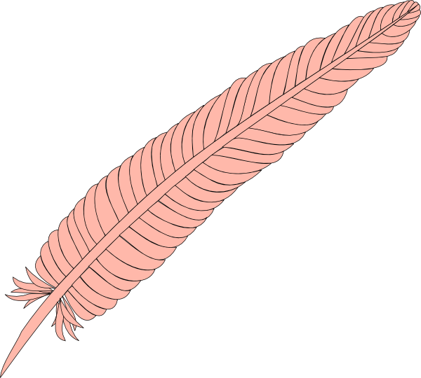 Clip art at clker. Feather clipart logo