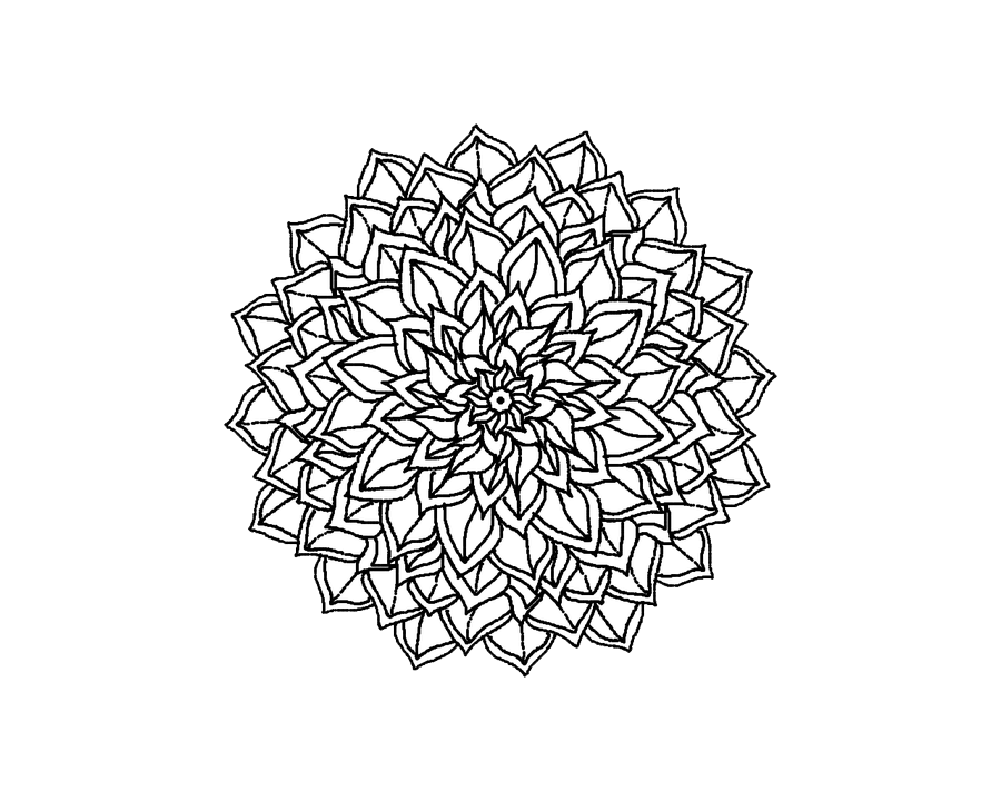 Tattoo simple transparent png. Feathers clipart mandala