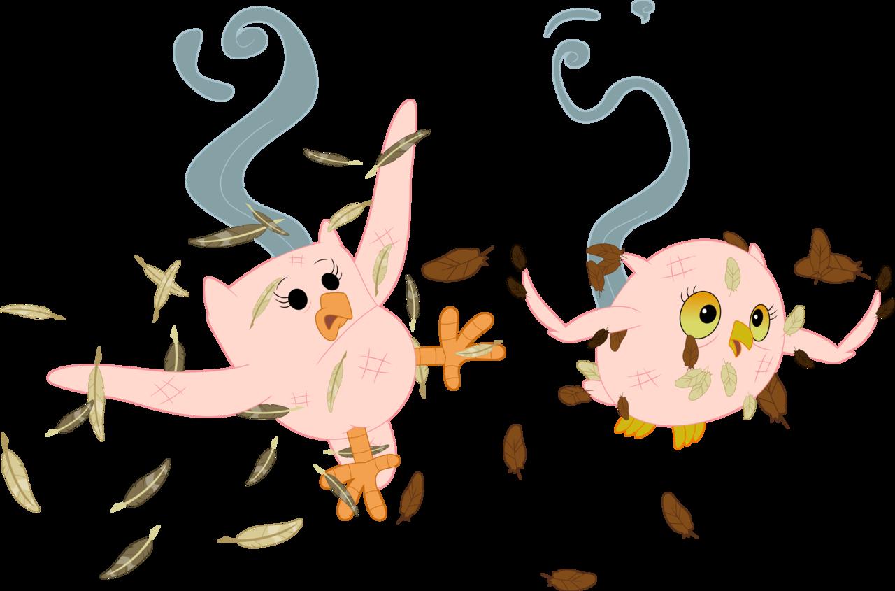 Feather clipart owl.  artist porygon z