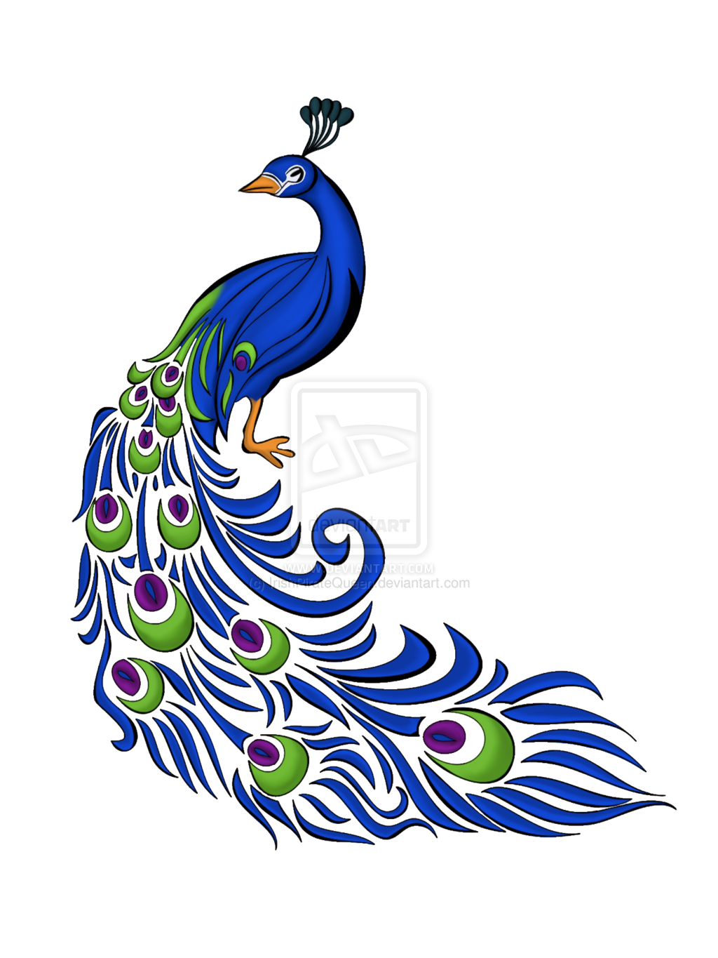 Motif by irishpiratequeen on. Feather clipart paisley peacock
