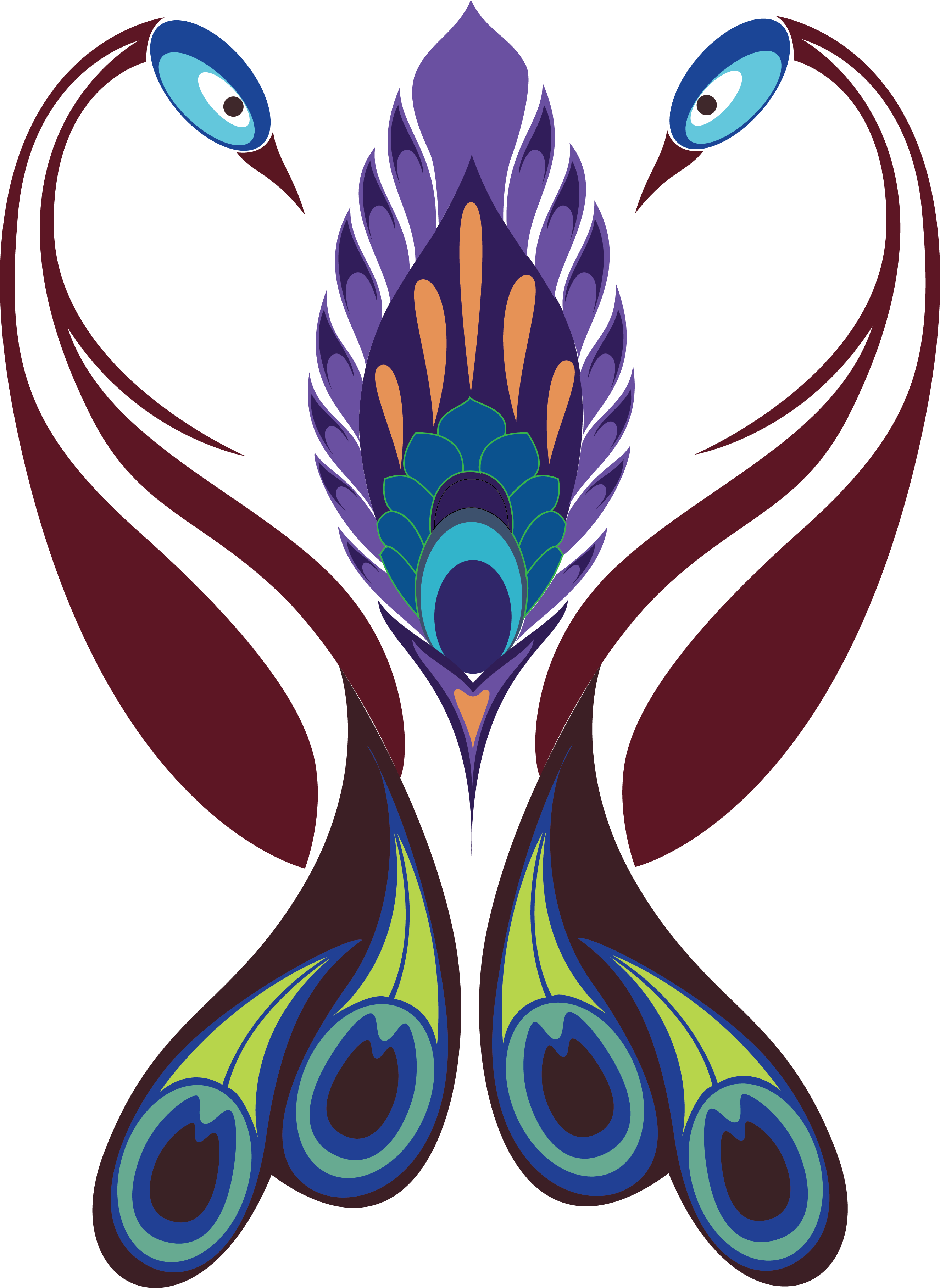 Feather clipart paisley peacock. Trinetra about free indian