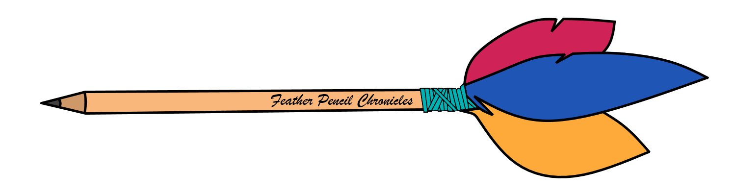 The fpc . Feather clipart pencil