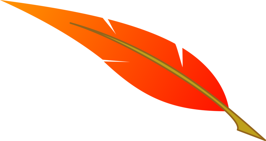 Orange explore pictures. Feather clipart royalty free