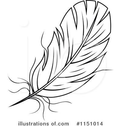 Feather clipart royalty free. Illustration by vector tradition