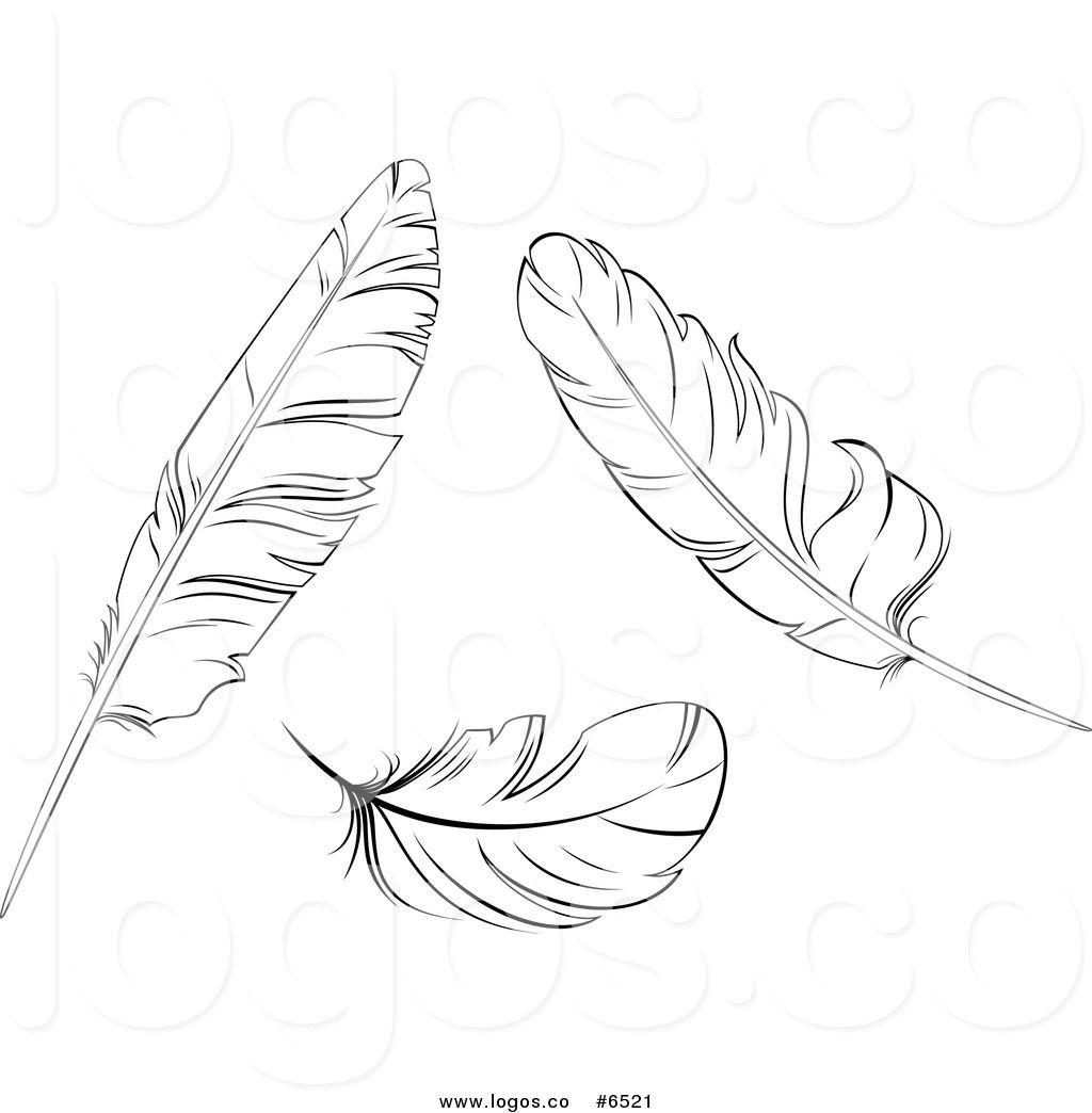 Feather clipart royalty free. Clip art vector logos
