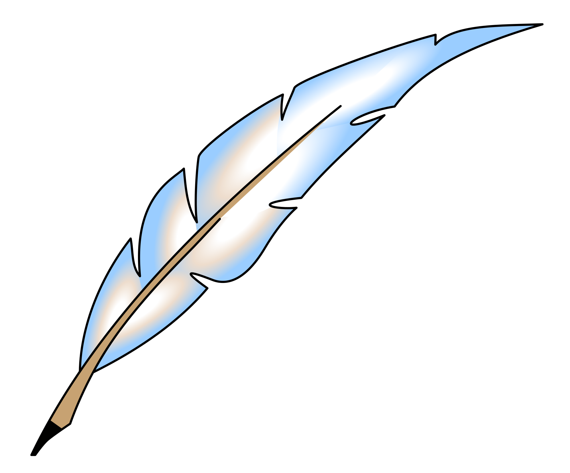 Feathers clipart svg. File feather wikimedia commons