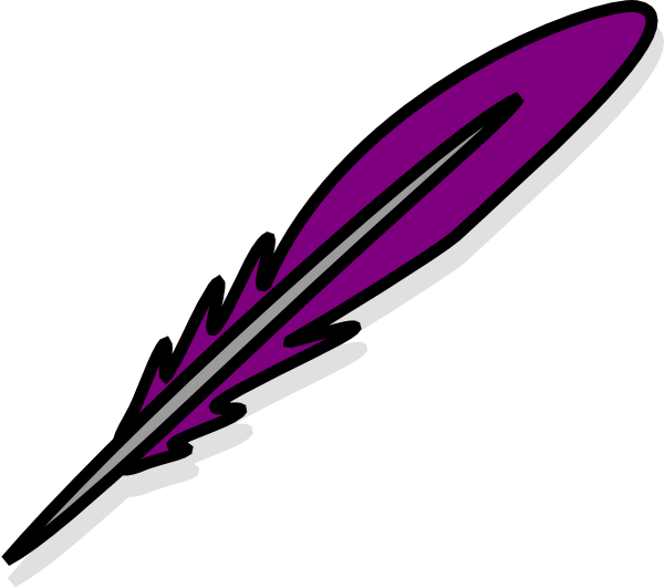 feathers clipart quill