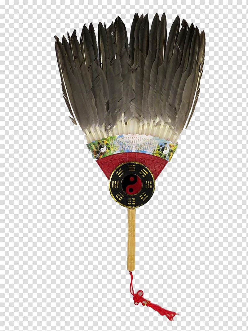 Feather clipart three. Hand fan battle of