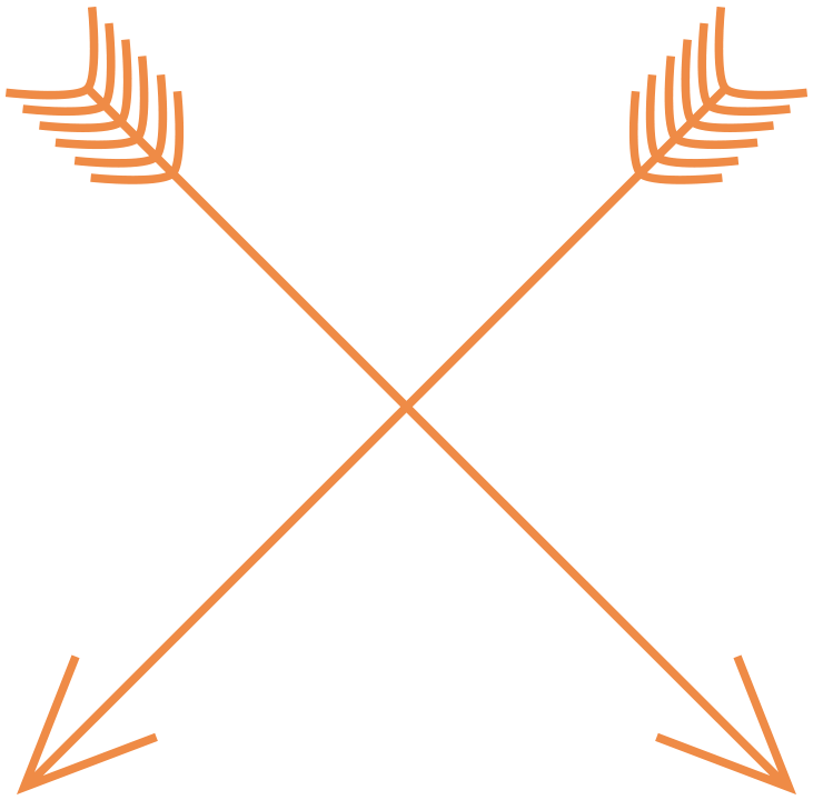 Free arrows cricut pinterest. Feathers clipart tribal arrow