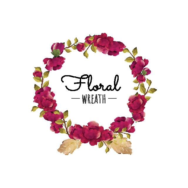 feather clipart wreath