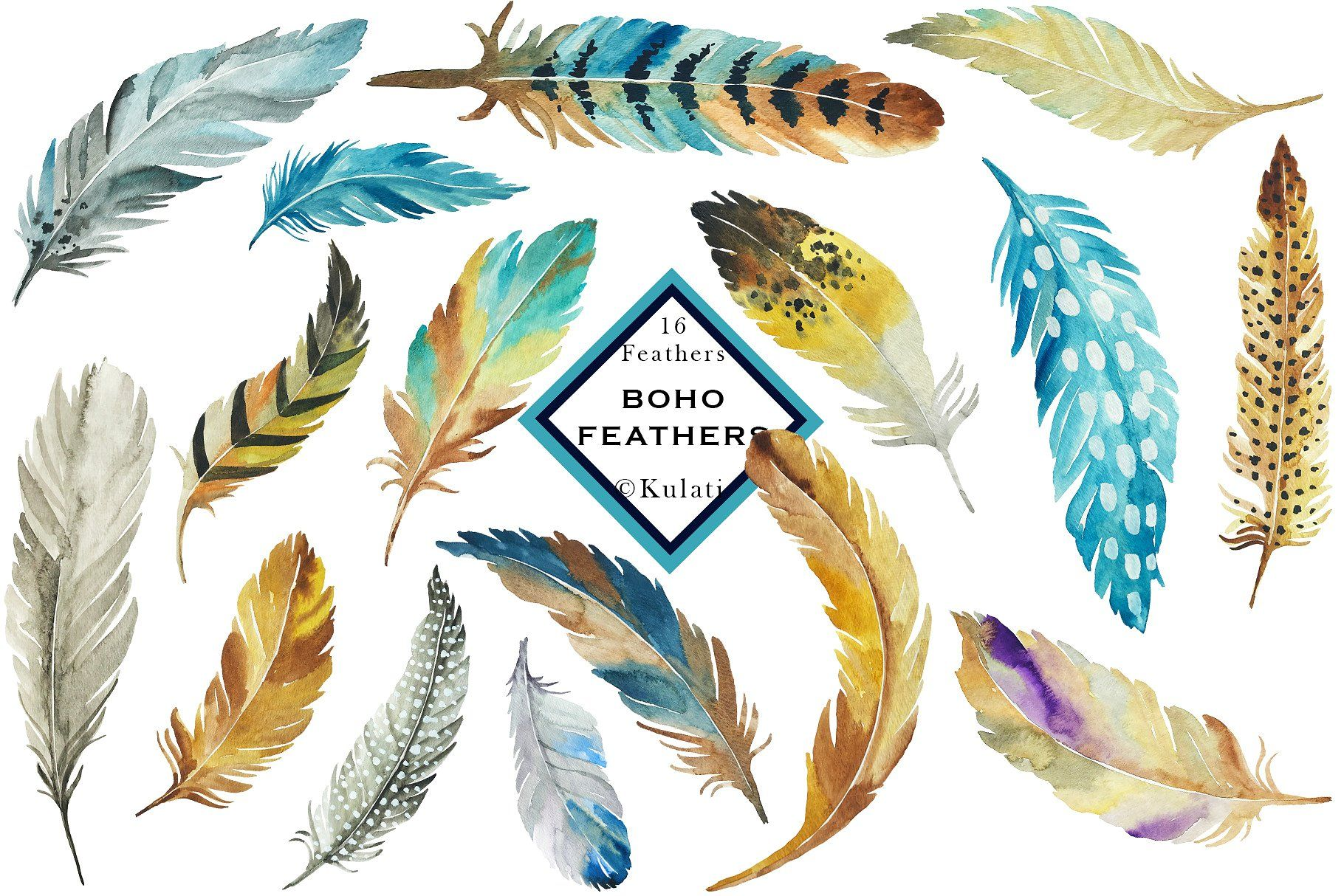 Feathers clipart blue feather. Brown and clip art