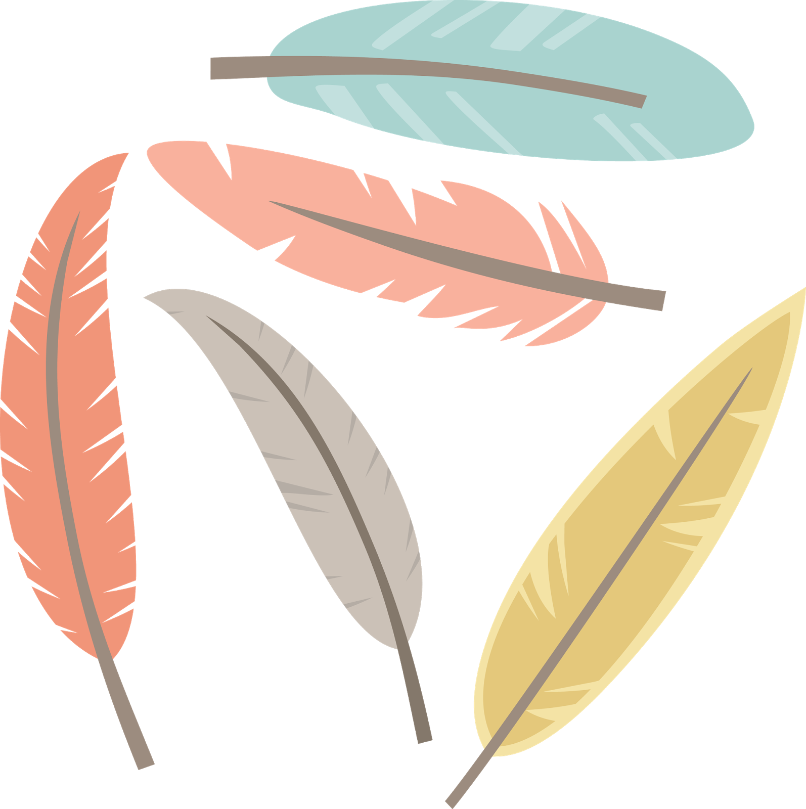 Feathers clipart creative. Miss kate cuttables happy