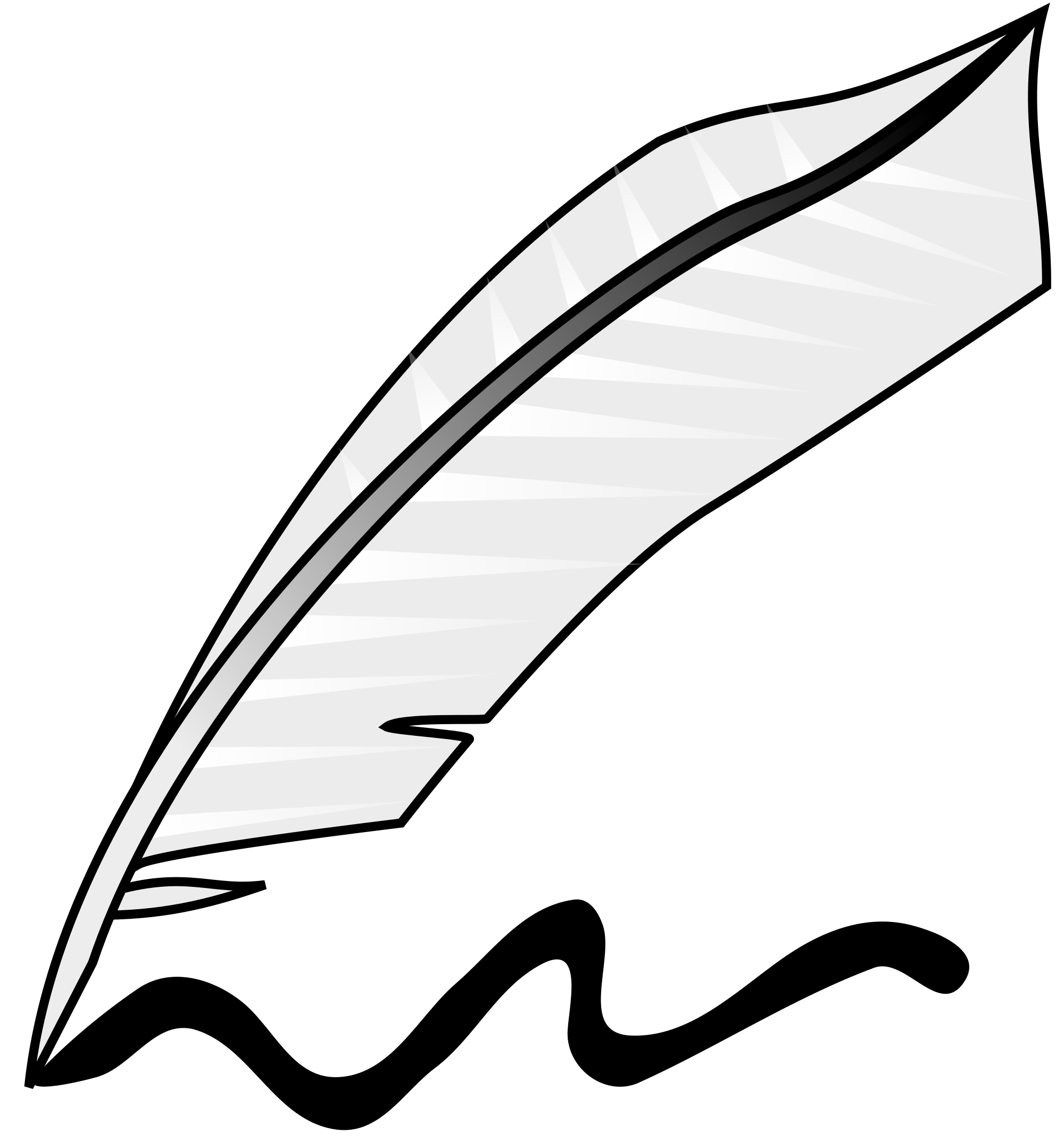 Feathers clipart svg. File feather writing wikimedia