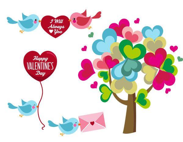 February clipart. Valentine treats invitation sample