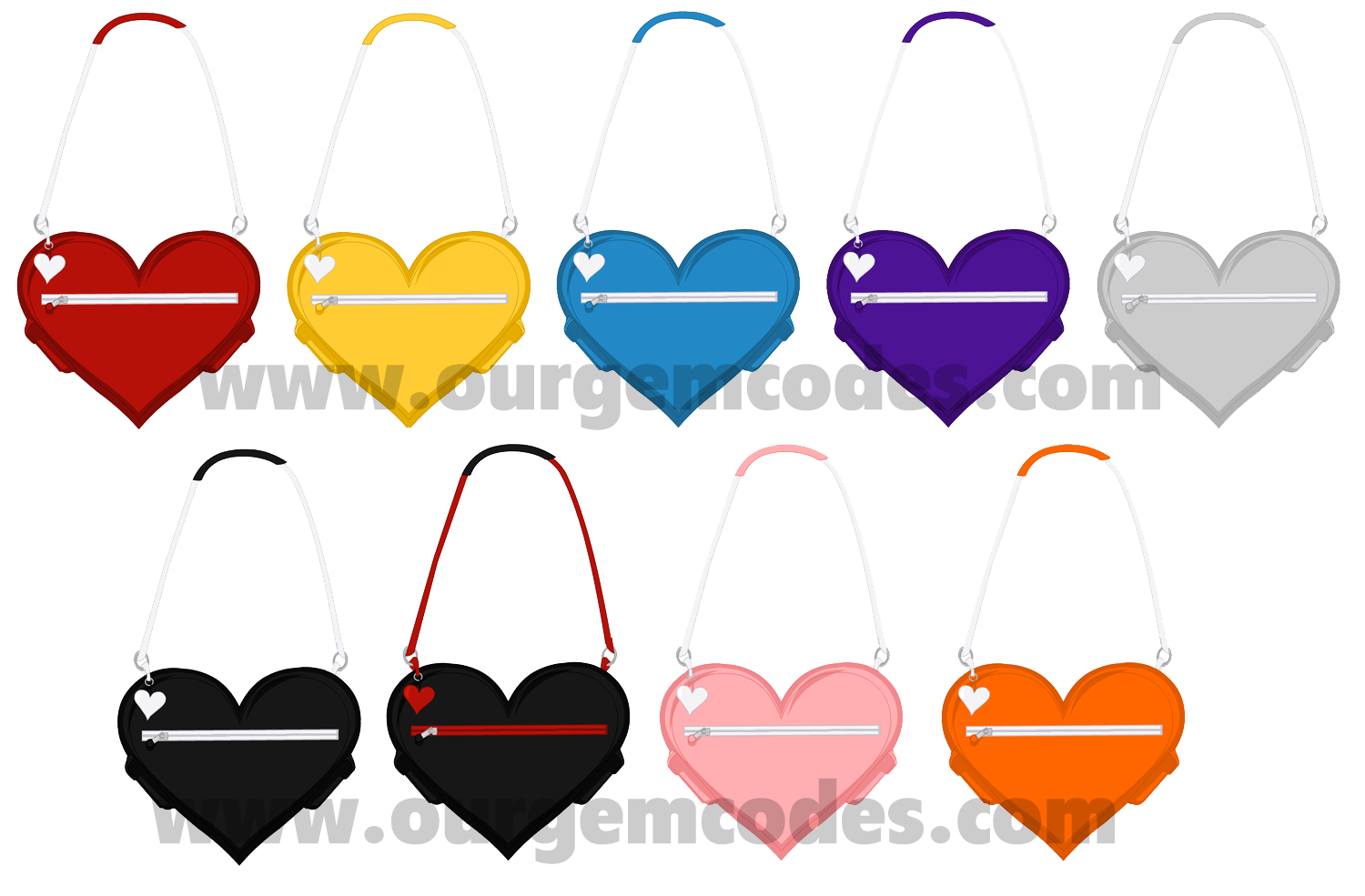 February clipart 3 heart. Event items ourgemcodes messenger