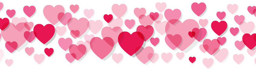 Heart stroke coffee information. February clipart banner
